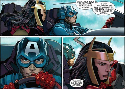 Jet Black and Captain America || Captain America #11