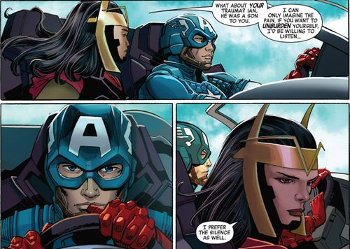 Jet Black and Captain America || Captain America #11