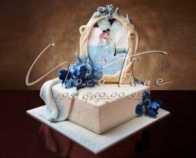 Торт Синие ирисы