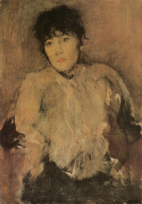 The Rose Scarf via James McNeill Whistler