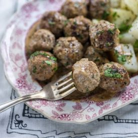 Swedish Meatballs [supergoldenbakes]