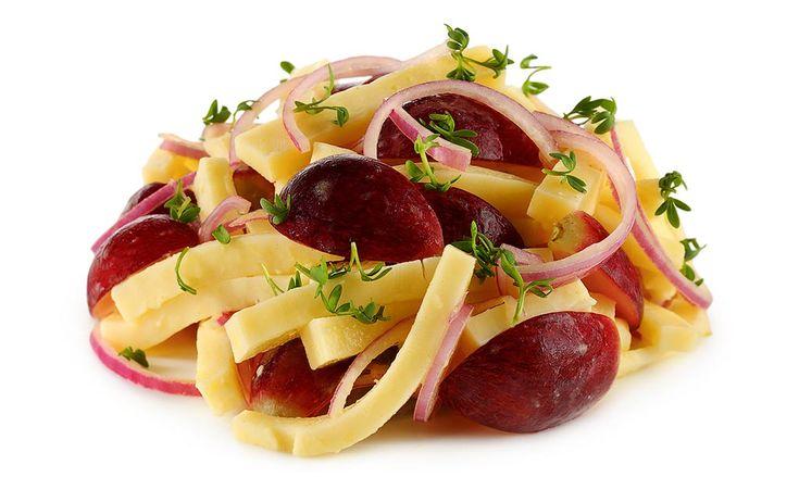 Raclette Käse Salat