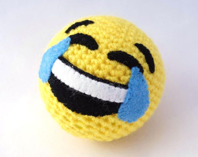 Bola de Emoji - llorando riendo