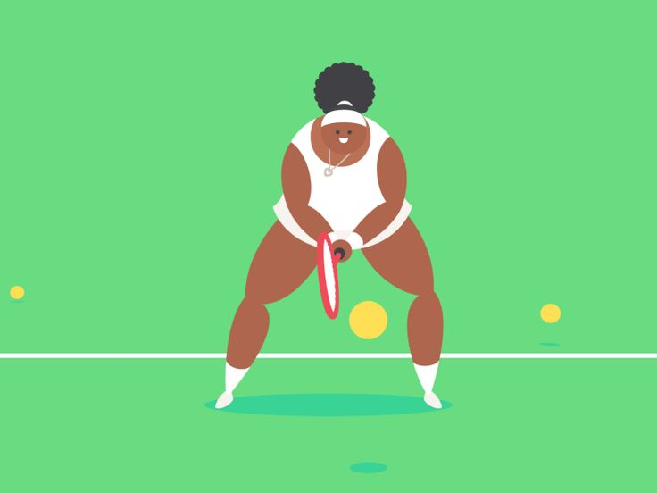 Dribbble - Tennis by James Curran
