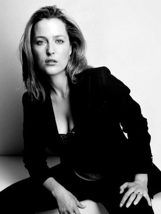 Gillian Anderson.One of my role models from the nineties.