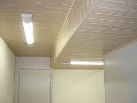 rebaixamento de teto em forro de isopor.