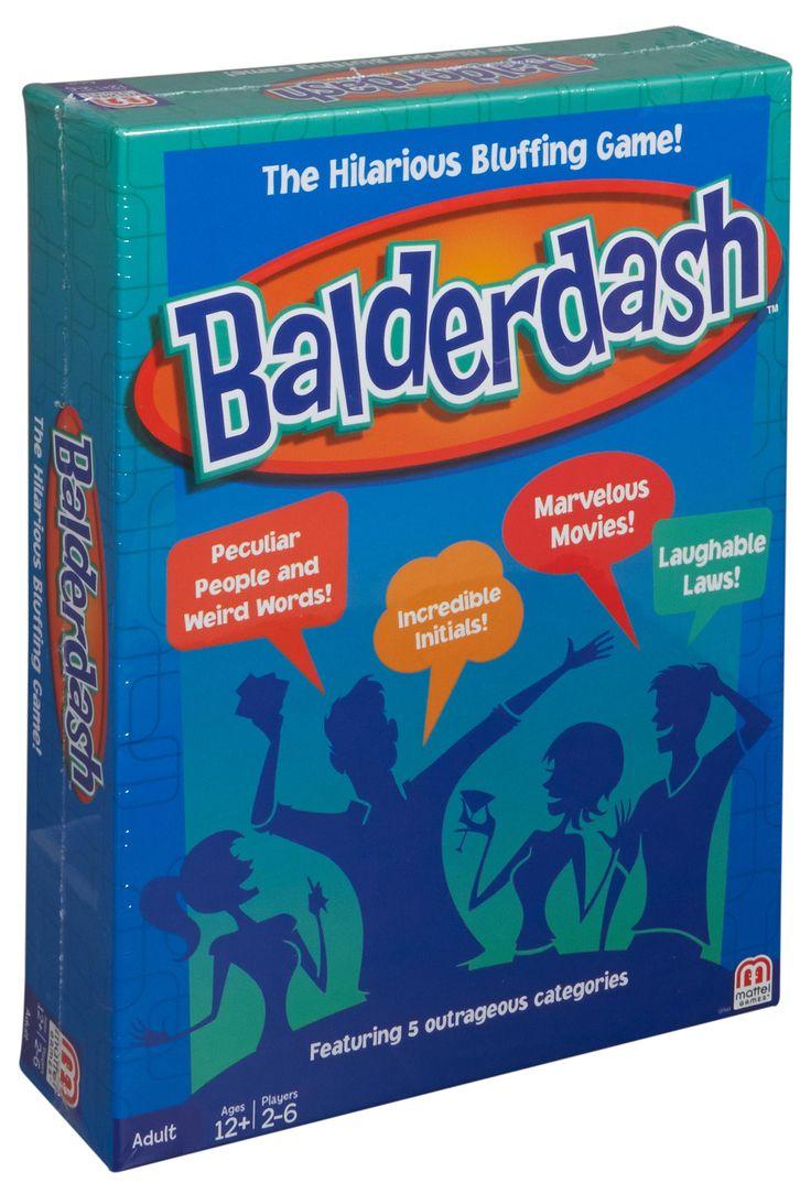 Amazon.com: Balderdash Game, Styles May Vary: Toys & Games