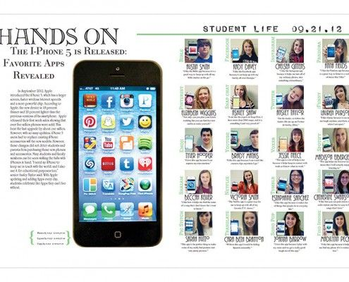 award winning yearbook covers | Student Life '13 Archives - Yearbook Discoveries