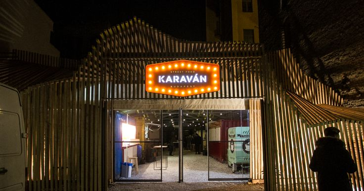 The city's first street food court, located right near Szimpla Kert, has opened its gates.