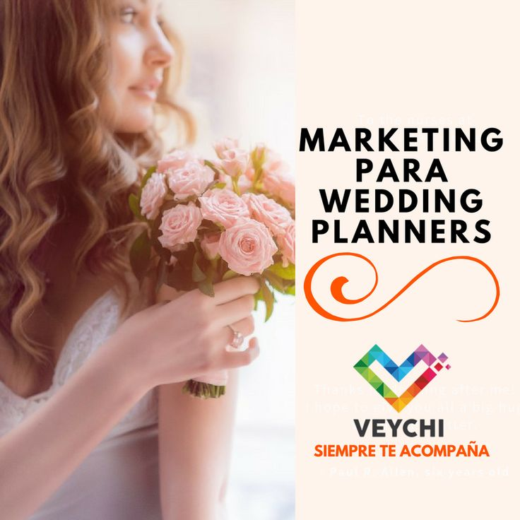 Marketing para wedding planners