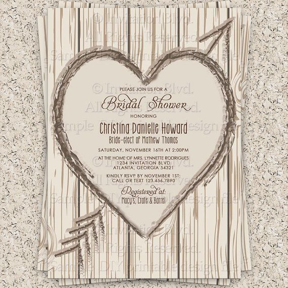 20 best affordable bridal shower invitations images on pinterest, Wedding invitations