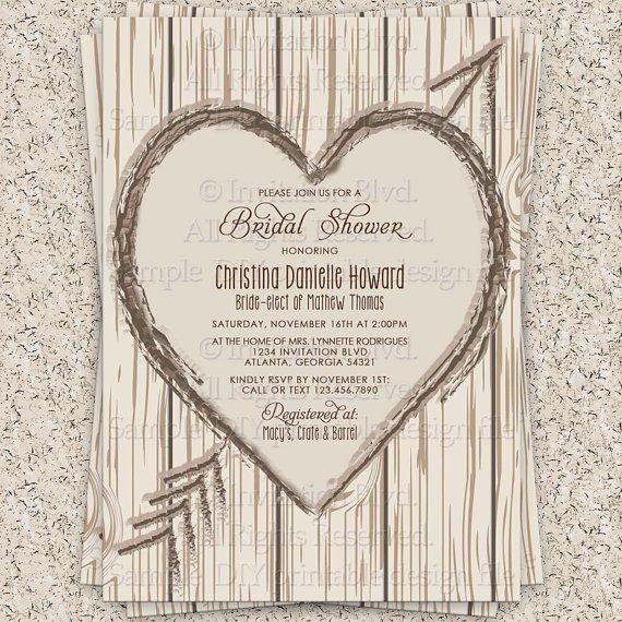 20 best Affordable Bridal Shower Invitations images on Pinterest