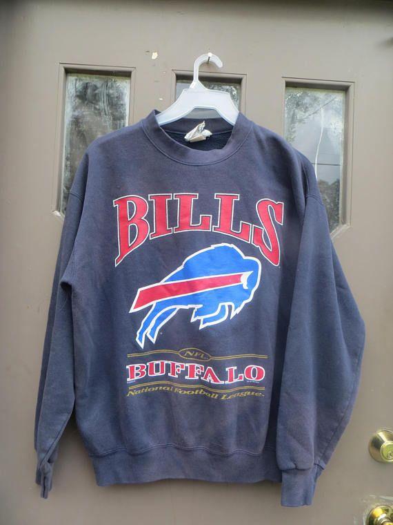 vtg 90s Buffalo Bills vintage crewneck sweatshirt nfl  c65382989