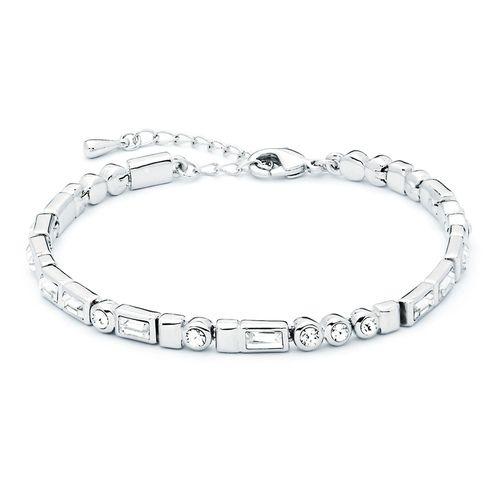 Morse Code I Love You Bracelet with Swarovski® Crystals