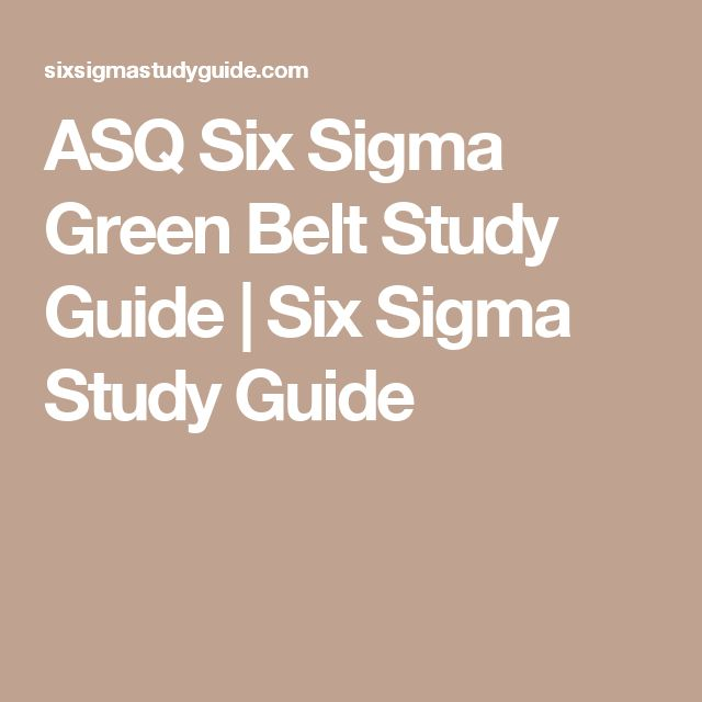 IASSC Lean Six Sigma Black Belt Study Guide