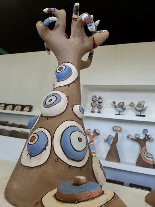 Anelise Bredow - Ateliê de Cerâmica: ESCULTURAS