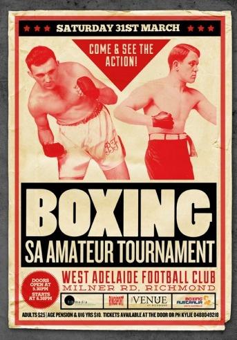 Vintage Boxing Poster, BOARD: http://pinterest.com/recapturist/vintage-boxing-posters/