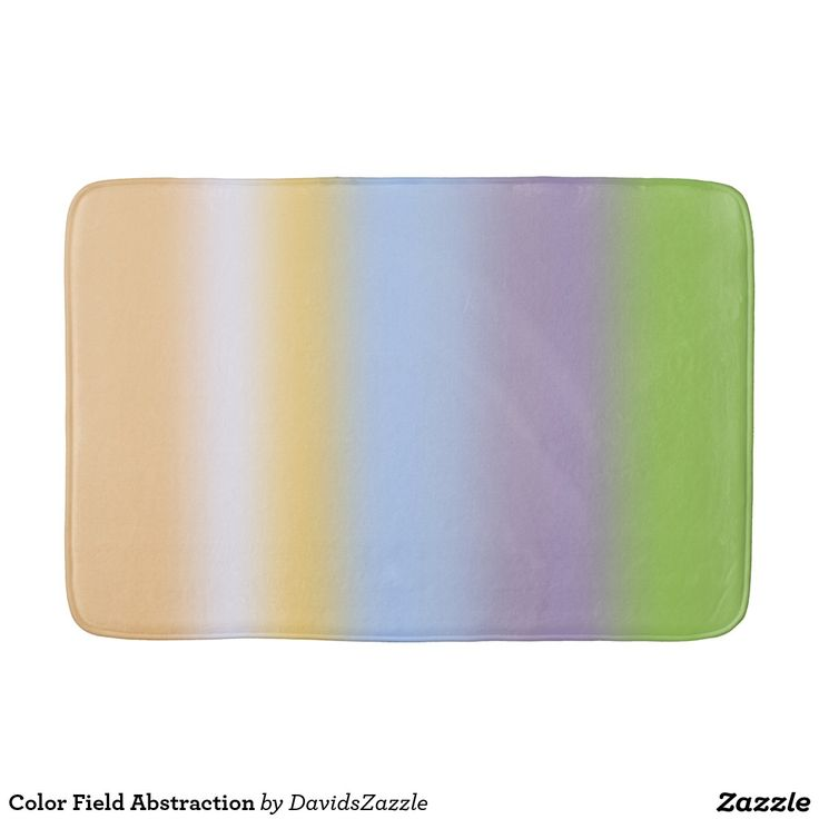 Color Field Abstraction Bathroom Mat  This design is available on many more products! Go to my Zazzle products page and type in the name of the design to see them all!  #color #abstract #art #line #stripe #purple #orange #green #white #abstraction #abstract #minimal #expressionism #minimalism #expressionism #soothing #calm #peace #joy #peaceful #sooth #relax #vibrant #color #zazzle #buy #sale #for #home #decor #bathroom #room #decorate #bath #mat