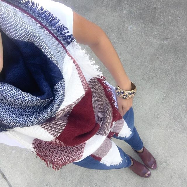 blanket scarf and booties www.shopcsgems.com