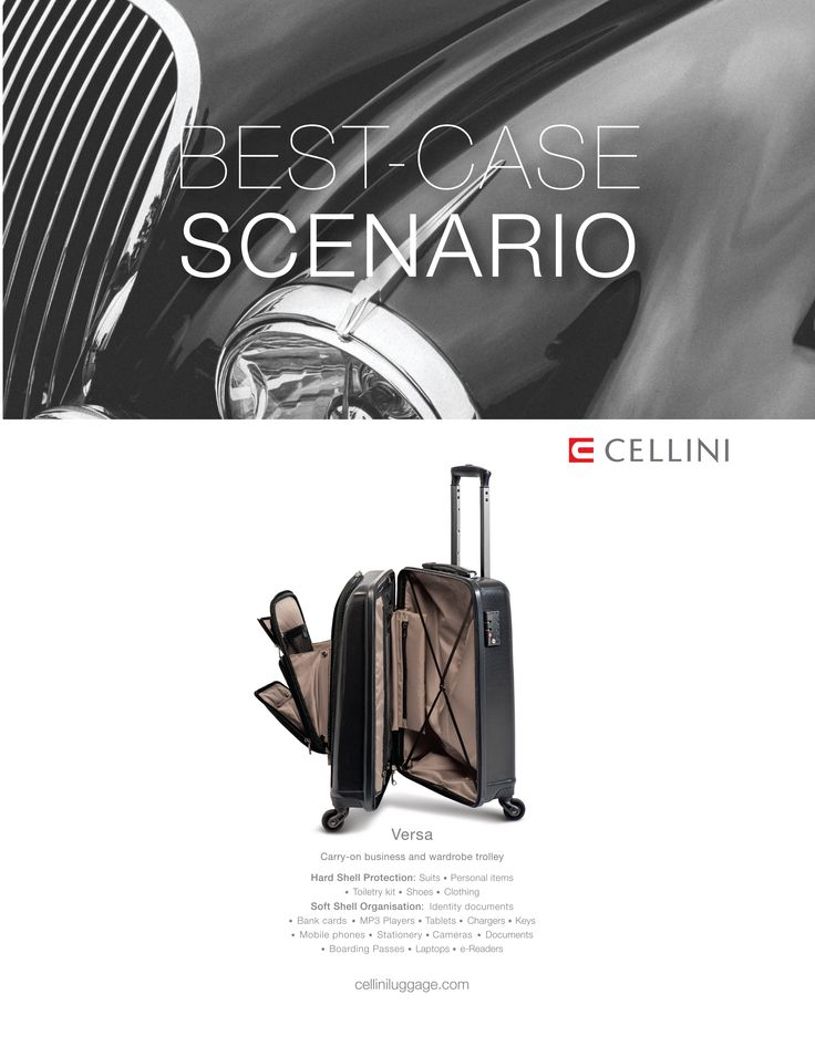 Best-case scenario; Cellini Versa