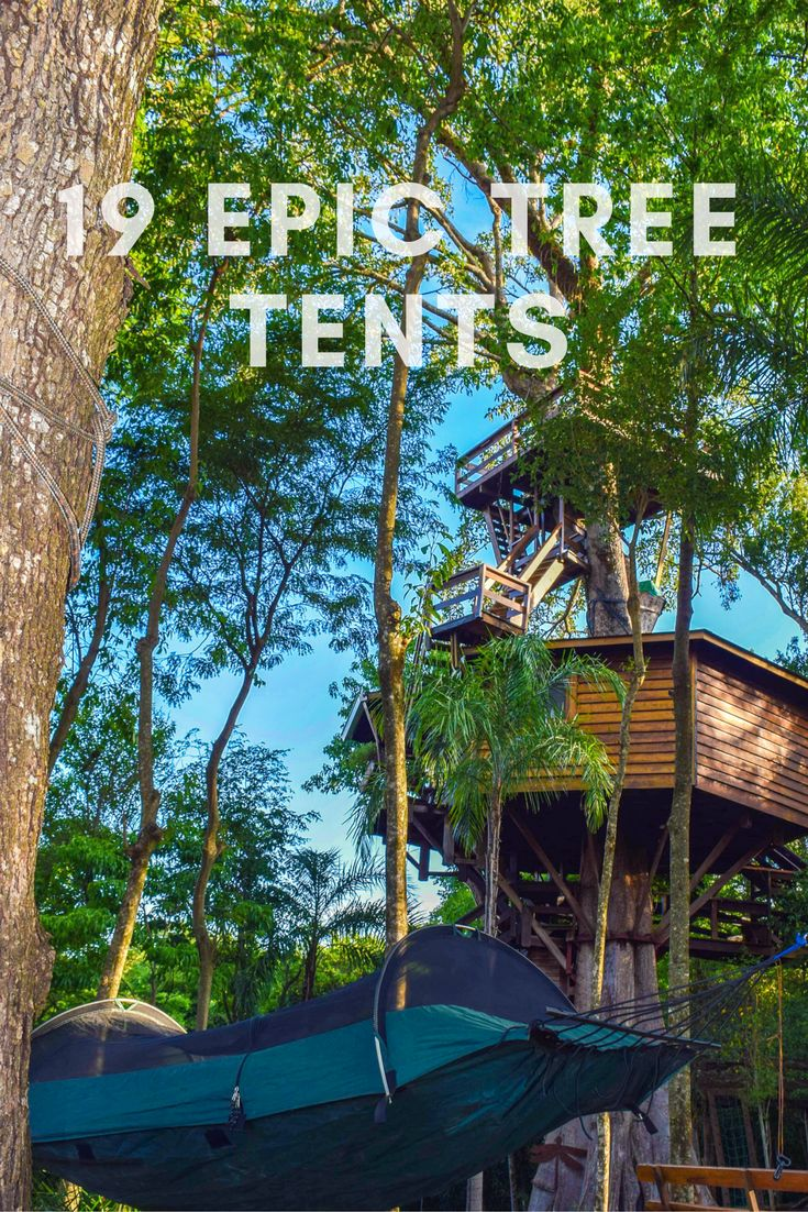 19 of the Most Spectacular Tree Tents that Money Can Buy  sc 1 st  Pinterest & 29 best Tree Tents aka Portable Treehouses images on Pinterest ...