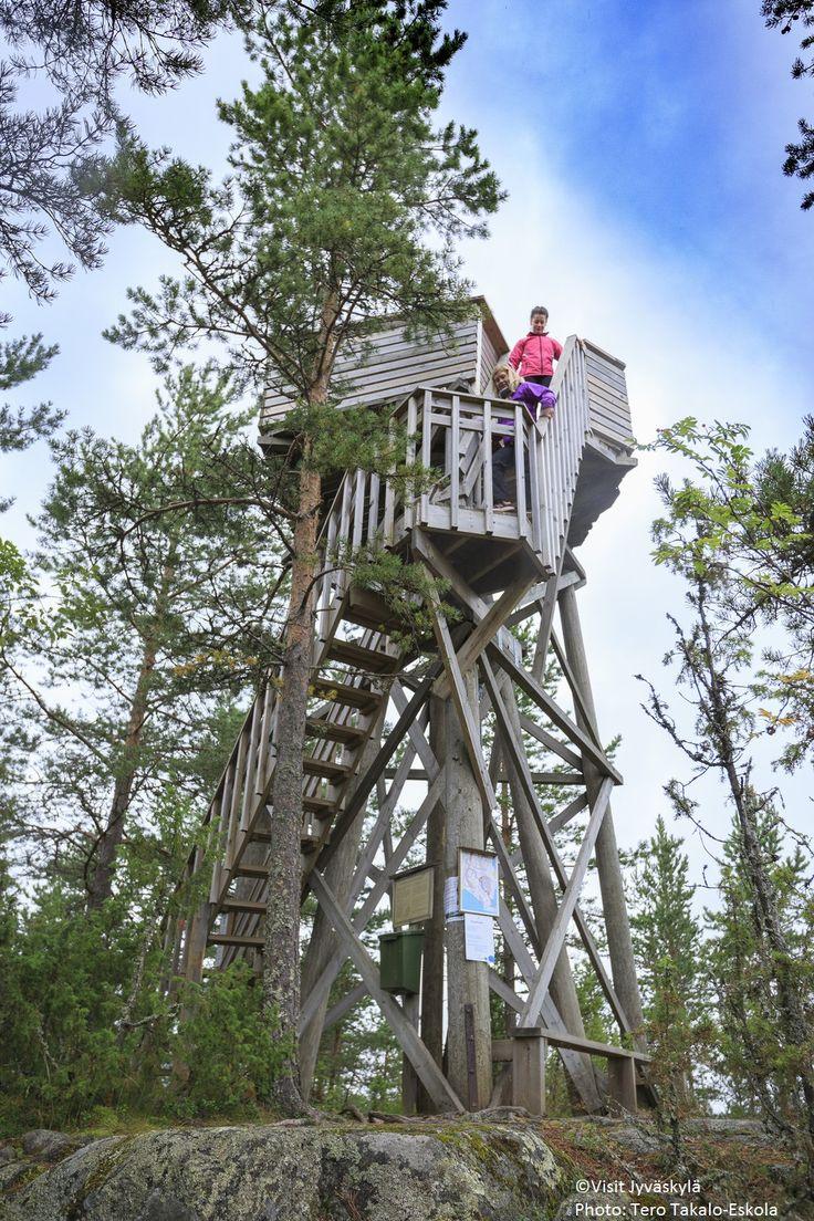 Unesco world heritage site: Oravivuori triangulation tower. ©Visit Jyväskylä Photo: Tero Takalo-Eskola
