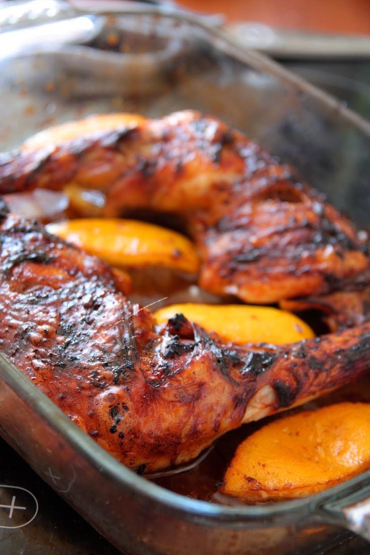 balsamic vinegar + lemon grilled chicken - poulet citron balsamique : http://unflodebonneschoses.blogspot.fr/2010/06/le-poulet-citron-balsamique-delvira.html