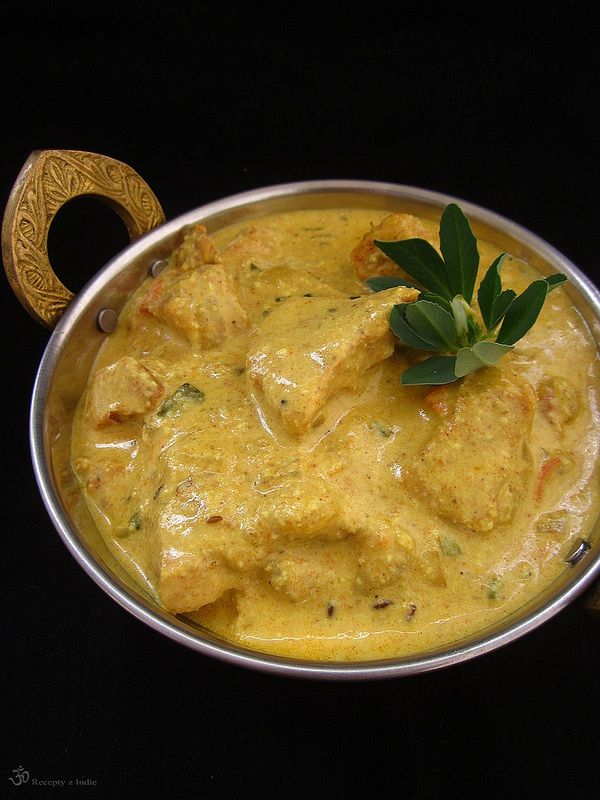 Kuracia shahi korma / Chicken shahi korma