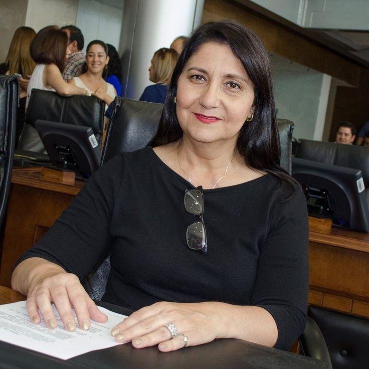 La Dip. Patricia Jurado, miembro de la Comisión de Economía, Turismo y Servicios en el Congreso del Estado y representante de los municipios del noroeste...