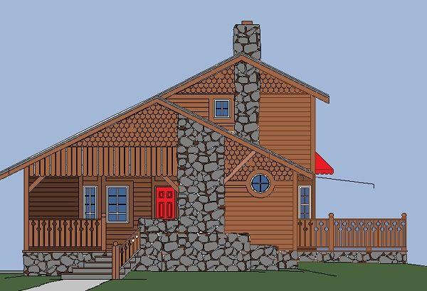 Sun Plans :: Sun Dance Cottage
