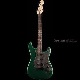 VARVANTAKIS : Fender SQUIER BULLET STRAT HSS METALLIC GREEN ΗΛΕΚΤΡΙΚΗ ΚΙΘΑΡΑ
