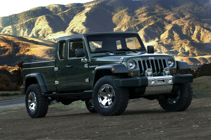 Jeep Comanche 2017 >> 2016 Jeep Gladiator Reviews and Pictures - http ...