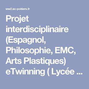 Projet interdisciplinaire (Espagnol, Philosophie, EMC, Arts Plastiques) eTwinning ( Lycée Italien de Naples) : ¡Luchemos contra la discriminación !- Espagnol - Pédagogie - Académie de Poitiers