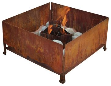 Elements Fire Pit - modern - firepits - Terra Flame Home