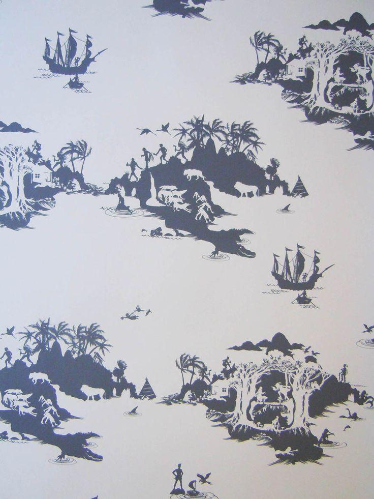 Peter Pan wallpaper by Emma Molony