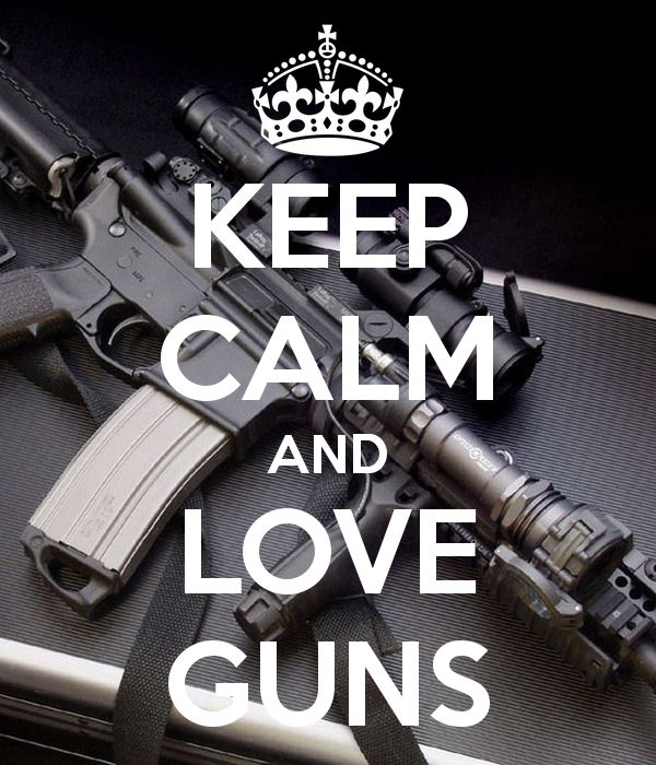 We definitely love our guns! I created an obsessed monster when I introduced guns to my husband. More the merrier is our motto. :-))