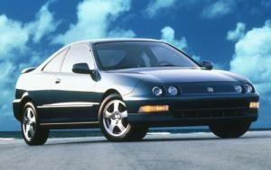 1996 acura integra <3 OWNED!!... :(