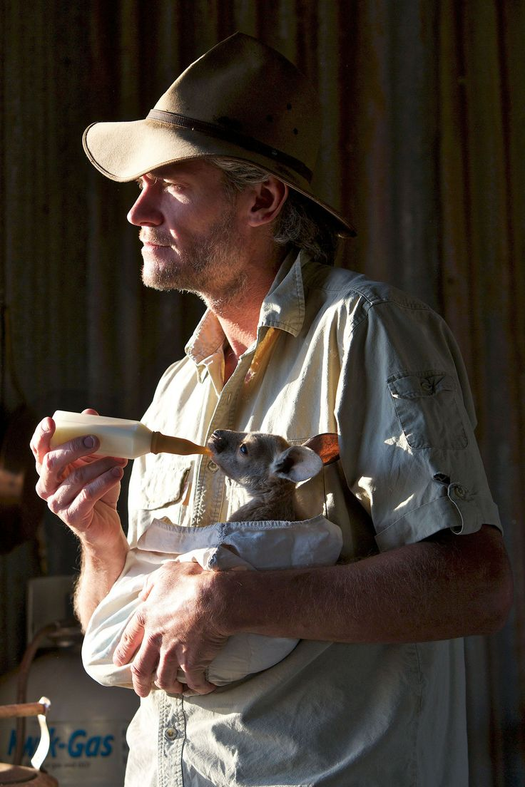 Chris 'Brolga' Barnes lives on his own in a shack in the bush,