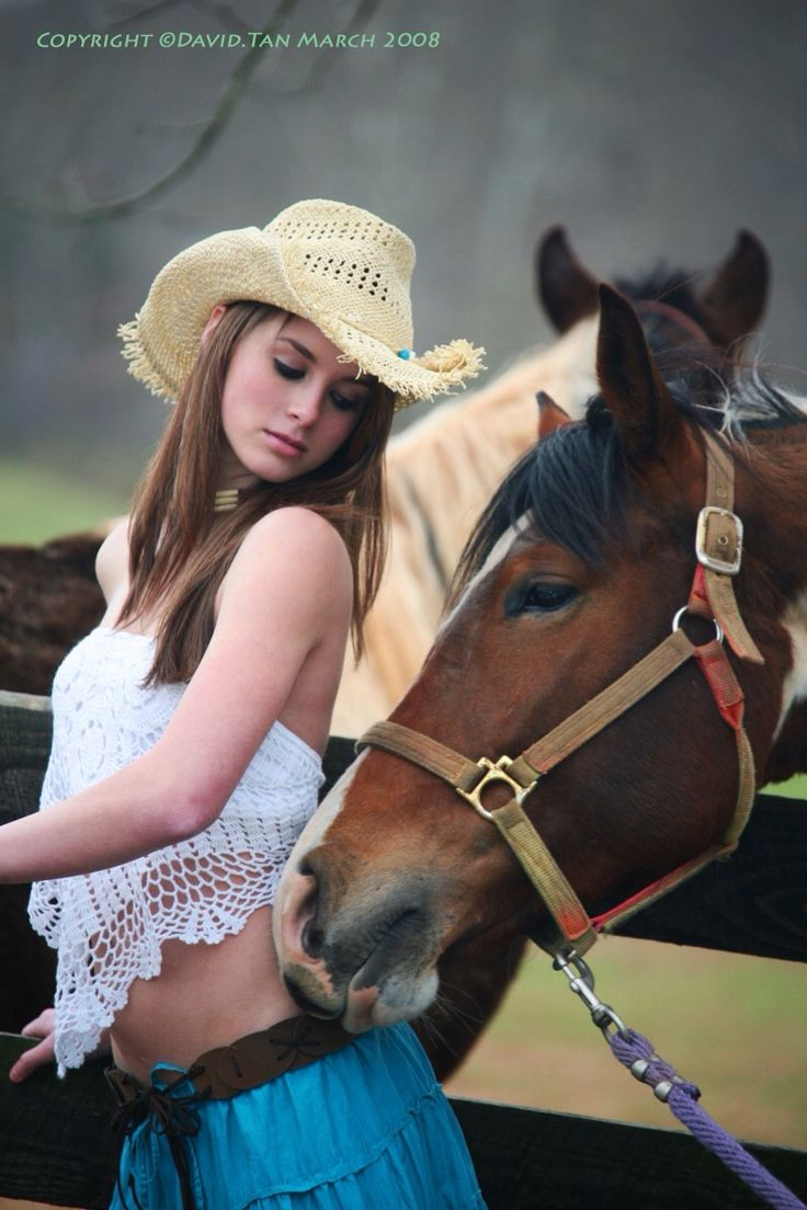 Nude cowgirls and hores — 4