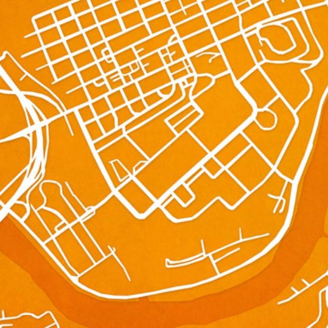 campus street map