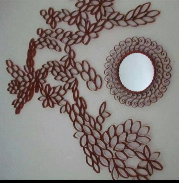 Toilet paper what? I am doing this as soon as I collect enough tp rolls. For my bedroom wall! & 62 best Plastic spoon art images on Pinterest | Plastic spoons ...