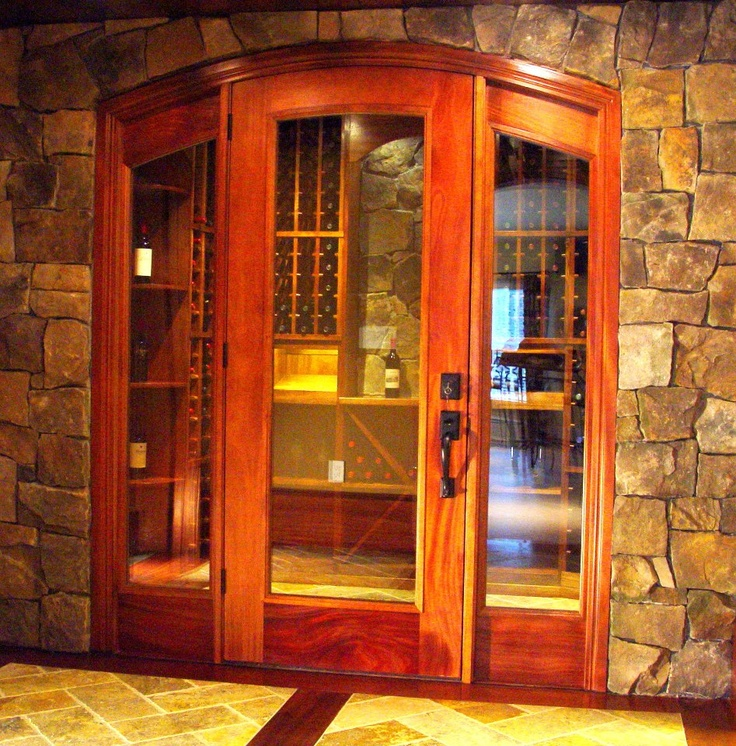 Custom Wine Cellar Door & Entry by CellarMaker | wine