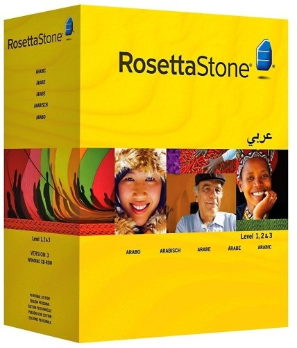 Rosetta Stone Version 3: Arabic Level 1, 2 and 3 Set with Audio Companion (Mac/PC CD) - http://www.cheaptohome.co.uk/rosetta-stone-version-3-arabic-level-1-2-and-3-set-with-audio-companion-macpc-cd/