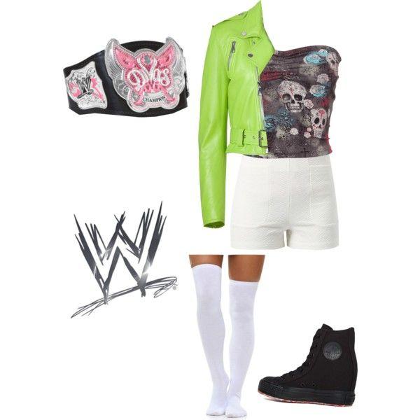 Me as the WWE Divas Champion