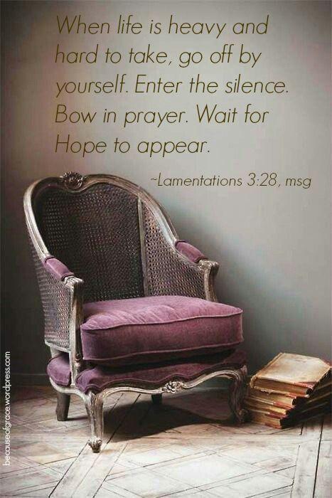 Lamentations 3:28