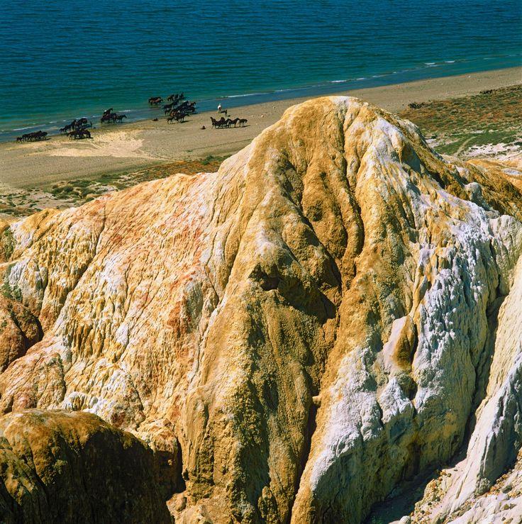 20 ancient lakes around the world.  Lake Zaysan, Kazakhstan: 25 million years old.