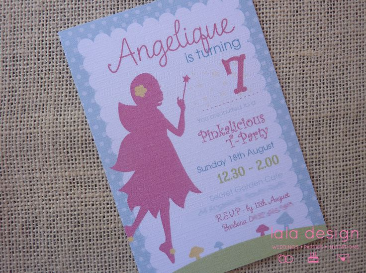 Angelique 7th Birthday