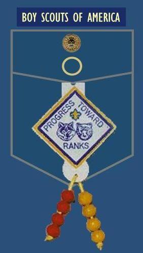 Cub Scout Uniform Guide - Right Pocket