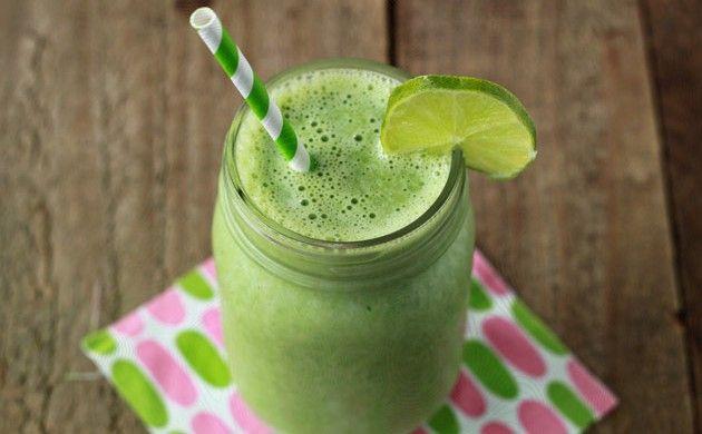 Groene Smoothie Vanille recept