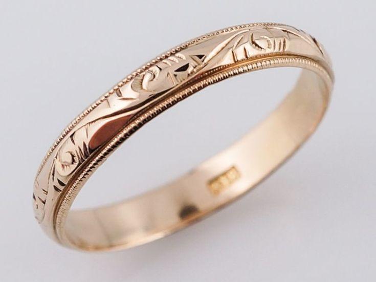 177 best antique wedding bands images on
